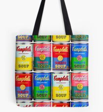 Campbells' Tomato Soup Print Tote Bag