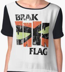 Brak Flag Women's Chiffon Top
