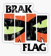 Brak Flag Sticker