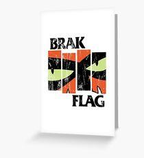 Brak Flag Greeting Card