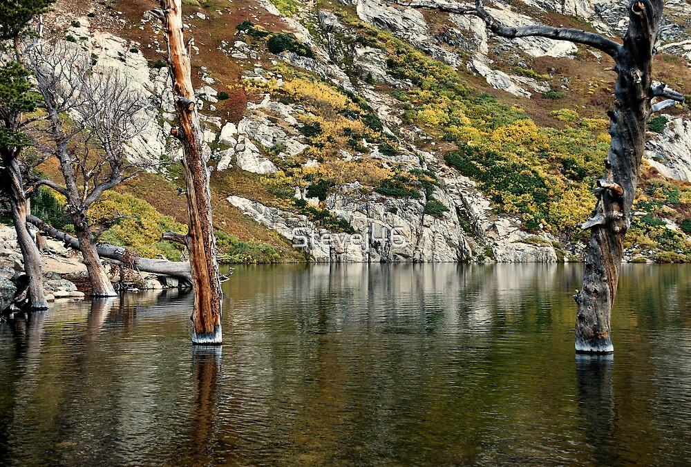 Fall at St. Mary's Lake by Stevej46