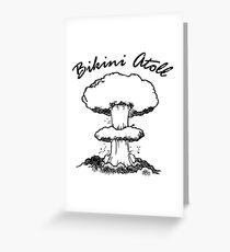 Bikini Atoll Greeting Card