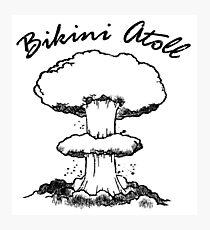 Bikini Atoll Photographic Print