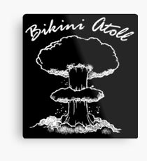 Bikini Atoll Metal Print