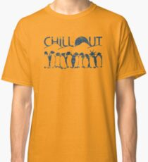 Penguin Chill Out Classic T-Shirt