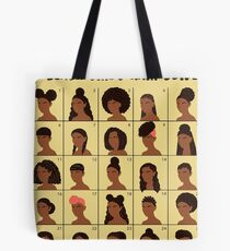 A Black Girls Hair Guide Tote Bag
