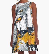 Gundam A-Linien Kleid