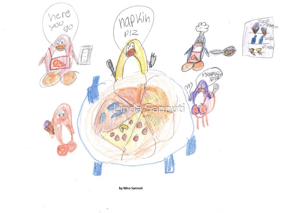my 8yr olds art by Linda Sannuti