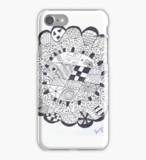 Compass flower  iPhone Case/Skin