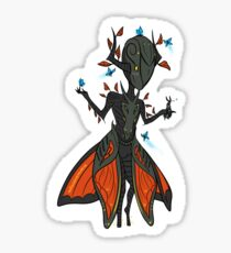 Warframe: Chibi Feyarch Oberon (Ft. Titania) Sticker