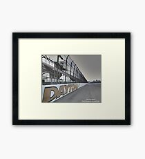 Daytona 500 / The Day After Framed Print