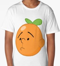 Karl Pilkington Head Like An Orange  Long T-Shirt