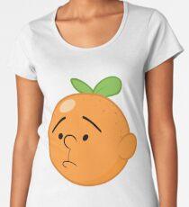Karl Pilkington Head Like An Orange  Women's Premium T-Shirt