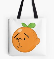 Karl Pilkington Head Like An Orange  Tote Bag
