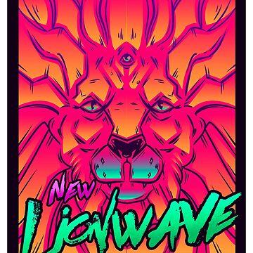 Neue Löwenwelle. von Gerkyart