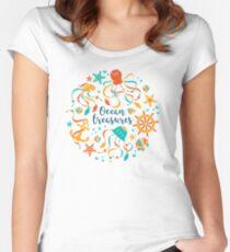 Ocean treasures Women's Fitted Scoop T-Shirt