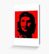 Che GueCera Che Guevara and Michael Cera Mashup Greeting Card