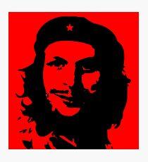 Che GueCera Che Guevara and Michael Cera Mashup Photographic Print