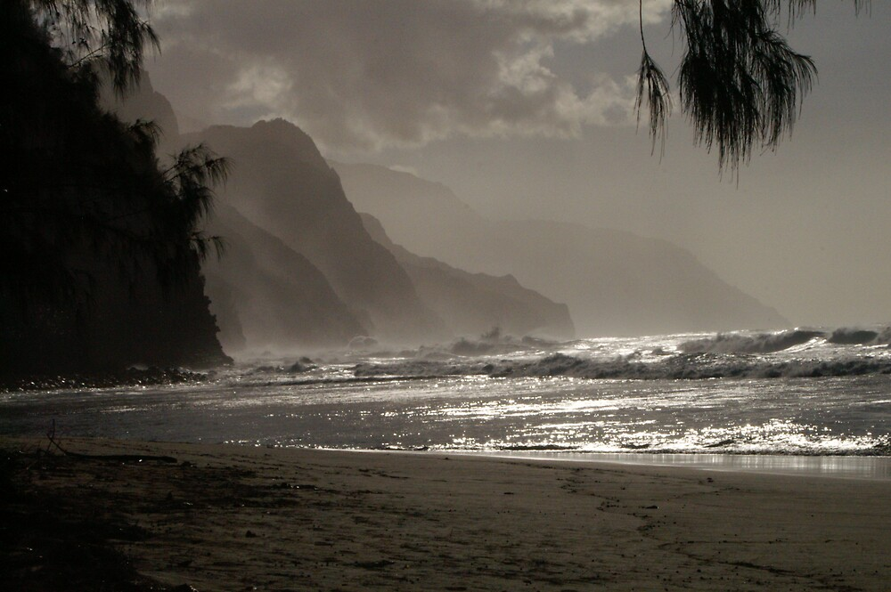 Hawaii, beach in the early morning. by Chromehound121
