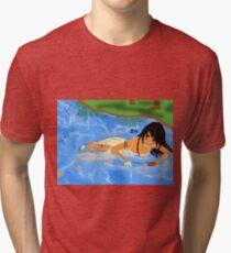 Shadow lake Tri-blend T-Shirt