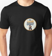 I Love Photography - Cool Photographer Designer T-Shirt