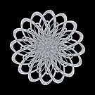 Spiral Flower - Silver (2014) by Shining Light Creations