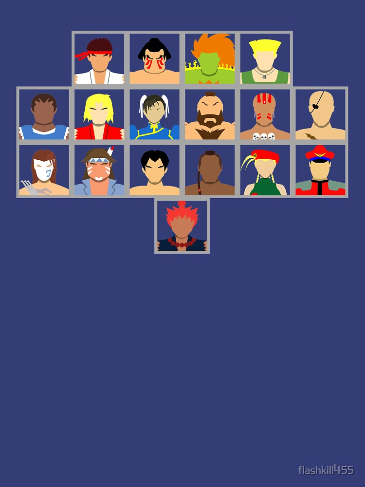 Select Your Character - Super Street Fighter 2 Turbo by flashkill455