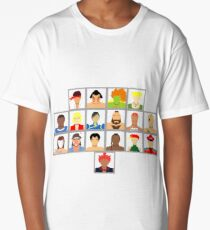 Select Your Character - Super Street Fighter 2 Turbo Long T-Shirt