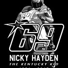 nicky hayden 69 by Quinn Meaney