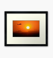 An Army Blackhawk helicopter. Framed Print
