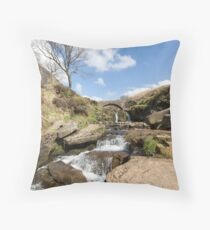 Three Shires Head Throw Pillow