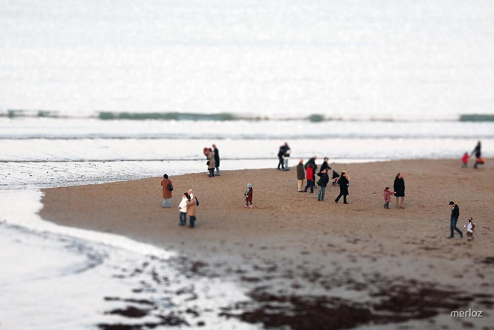 The beach by merloz