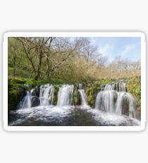 Lathkill Dale Waterfall Sticker