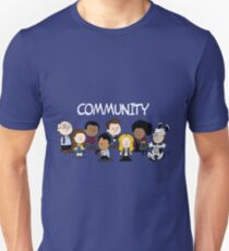 Community Snoopy Style T-Shirt