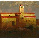 Romanesque building 1 by David  Kennett