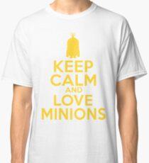 Keep Calm and Love Minions - T-shirt Classic T-Shirt