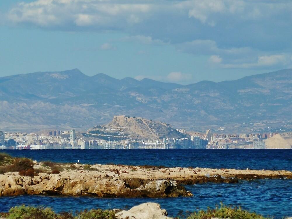 Shoreline of Alicante by Janone