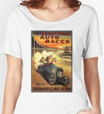 Indianapolis Poster Women's Relaxed Fit T-Shirt
