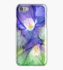 Grunge Flowers I iPhone Case/Skin
