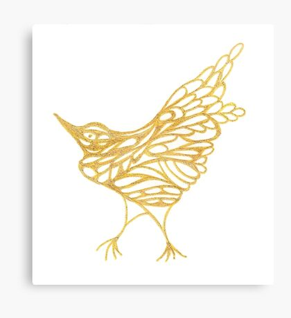 Golden Canary Canvas Print