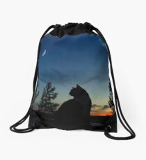 Warrior Cats - Silhouette Drawstring Bag