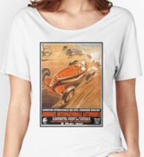 Motorsport Poster Women's Relaxed Fit T-Shirt