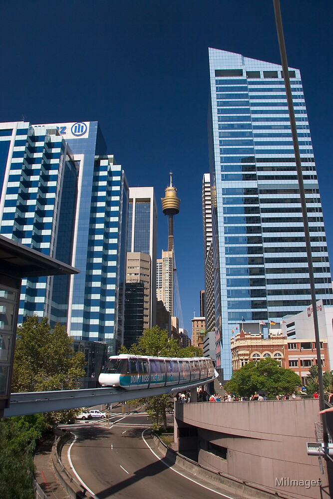 Sydney Monorail by MiImages