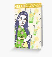 On'na Summer 3 Greeting Card