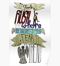Fools Rush Poster