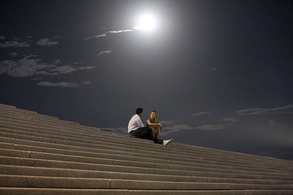 Discussion Under the Moon by John Robb