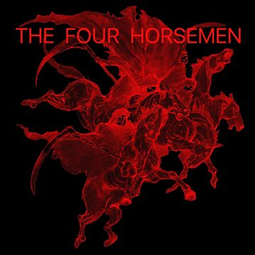 The Four Horsemen by occamslaser
