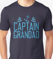 CAPTAIN GRANDAD with anchor T-Shirt