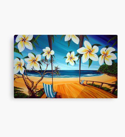 Sailing Noosa Style Canvas Print