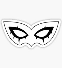 Persona 5 Joker Mask (without text) Sticker